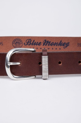 Ledergürtel Blue Monkey